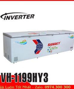 tủ đông sanaky 1000 lít iverter tiết kiệm điện