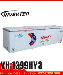 tủ đông sanaky 3 cửa 1300 lít tiết kiệm điện