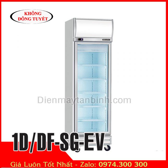 Tủ đông inox 1 cánh kính BERJAYA 1D/DF-SG-EV | Tủ đông trưng bày