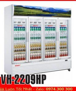 Tủ mát sanaky vh-2209hp 4 cửa kính