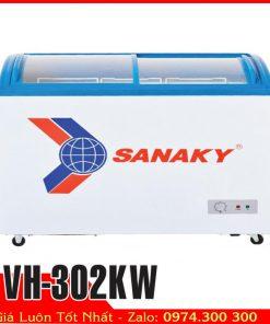 Tủ đông mát kính cong Sanaky VH-302KW