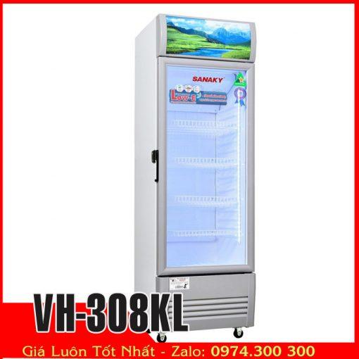 Tủ mát sanaky vh-308kl trưng bày nước ngọt
