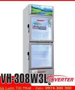 Tủ mát sanaky VH-308W3L inverter tiết kiệm điện