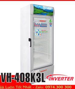 tủ mát sanaky Vh-408K3L inverter tiết kiệm điện năng