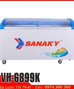 Tủ đông kính cong Sanaky vh-6899k