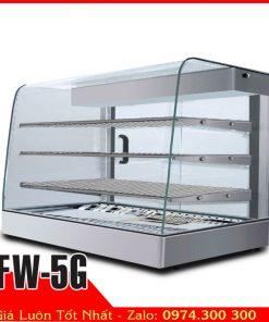 quầy hâm nóng thức ăn đặt bàn BERJAYA FW-5G