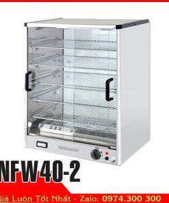 tủ hâm nóng thức ăn tự chọn bánh ngọt BERJAYA NFW40-2