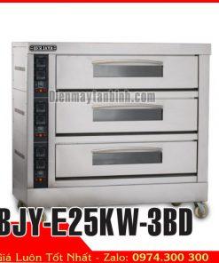 lò nướng 3 tầng 9 khay công nghiệp BJY-E25KW-3BD