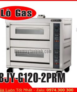 lò nướng công nghiệp gas 2 tầng 4 khay berjaya BJY-G120-2PRM