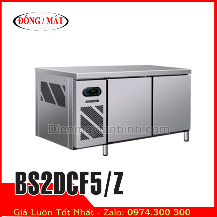 Bàn đông mát inox Berjaya BS2DCF5/Z dài 1,5m
