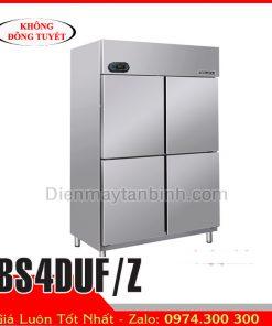 Tủ đông 4 cánh inox Berjaya BS4DUF/Z || Tủ cấp đông công nghiệp