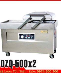 Máy hút chân không thực phẩm hai buồng DZQ-500×2