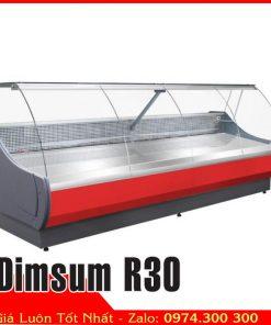 tủ mát trưng bày thịt heo dài 3 mét Dimsum R30