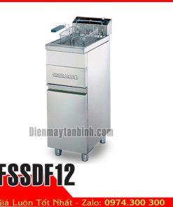 Bếp chiên nhúng điện đơn có chân berjaya FSSDF12