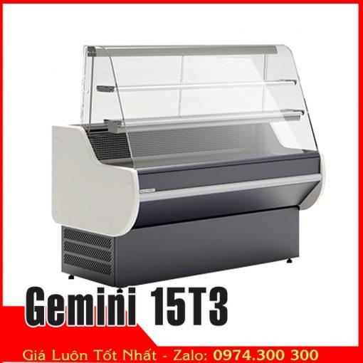 quầy mát lạnh bán hàng Gemini 15T3