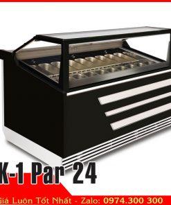 tủ đông kem 24 khay inox K-1 Par 24