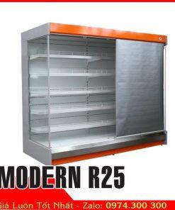 tủ mát siêu thị không cửa 2m5 MODERN R25