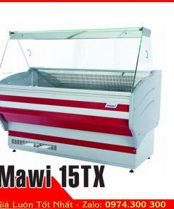 Tủ mát trưng bày thực phẩm lạnh Mawi 15TX