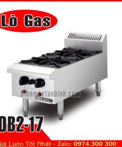 Bếp âu Berjaya 2 họng gas OB2-17