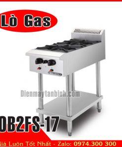 Bếp âu Berjaya 2 họng gas OB2FS-17
