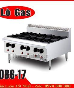 Bếp âu 6 họng gas Berjaya OB6-17