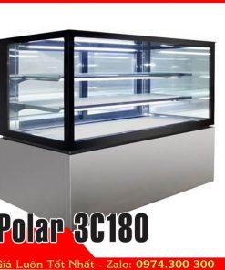 Tủ mát 3 tầng 1m8 bánh kem sinh nhật