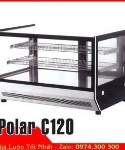 Tủ mát mini đặt trên quầy Bar 1m2 Polar C120