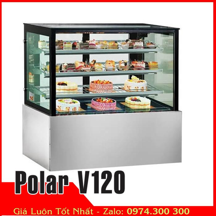 Tủ bánh sinh nhật 3 tầng 1m2 Polar V120