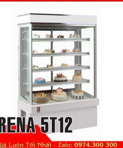 tủ bánh kem 5 tầng 1m2 trung quốc