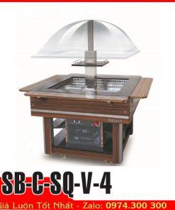 quầy lạnh buffet SB-C-SQ-V-4