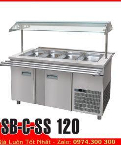 Tủ mát trưng bày chè, salad SB-C-SS 120