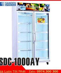 tủ mát trưng bày trái cây hoa SDC-1000AY