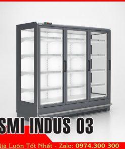 Tủ mát siêu thị 3 cửa kính SMI INDUS 03