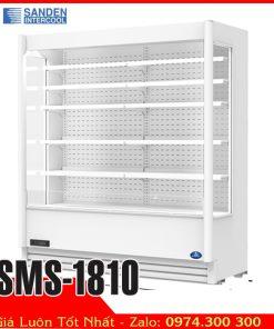 tủ mát trưng bày thực phẩm siêu thị dài 1m8 SMS-1810