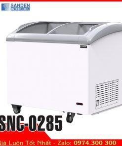 Tủ đông kem mini 280 lít kính cong Sanden intercool SNC-0285