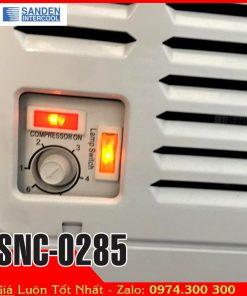 bảng điều khiển tủ đông sanden intercool SNC-0285