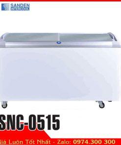 tủ đông kính cong thái lan Sanden 520 lít SNC-0515