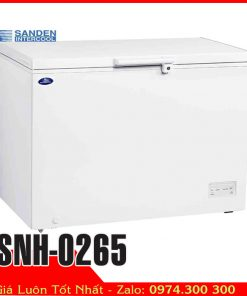 tủ đông thực phẩm 260 lít Sanden SNH-0265