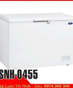 tủ đông thực phẩm nằm ngang thái lan Sanden 450 lít SNH-0455