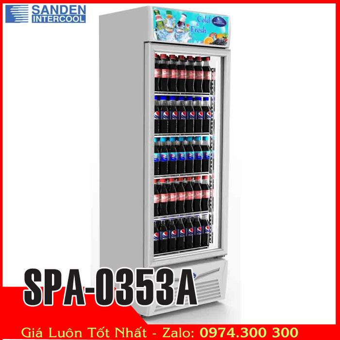 Tủ mát trưng bày nước ngọt sanden intercool SPA-0353A