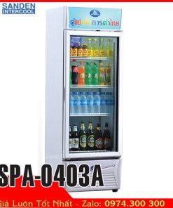 Tủ mát trưng bày nước ngọt sanden intercool SPA-0403A