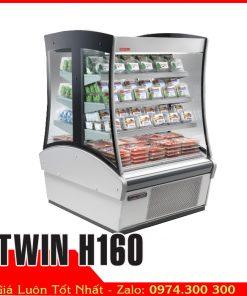 Tủ mát siêu thị trưng bày nước sữa trái cây Tủ mát trưng bày sữa, nước ngọt, trái cây TWIN H160
