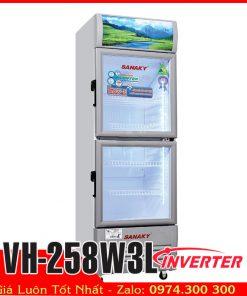 sanaky VH-258W3L tủ mát 250 lít inverter tiết kiệm điện