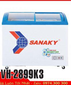 Tủ đông kem kính cong Sanaky VH-2899K3