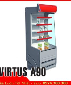 tủ mát siêu thị thực phẩm tự chọnVIRTUS A90