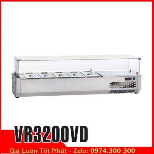 Tủ mát salads topings VR3200VD