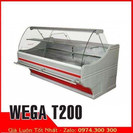 tủ đông mềm trưng bày thịt heo WEGA T200