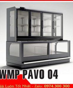 tủ đông trưng bày thực phẩm siêu thị WMP PAVO 04