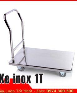 Xe inox đẩy thực phẩm 1T