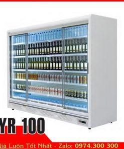 tủ mát trưng bày rượu siêu thị